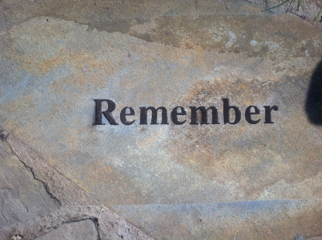 On-site Sandblasted Stone Pavers Long Beach memorial Hospital