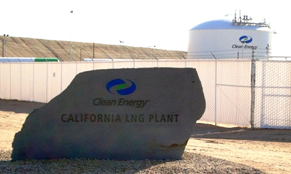On-site Sandblasting Monument for Clean Energy Fuels in Boron CA