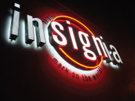 Insignia Custom Neon Sign Orange