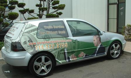 Neighborhood Trade Vinyl Car Wrap