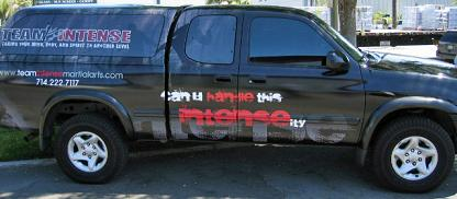 Team Intense Fleet Vehicle Wraps